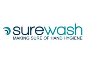 Ridge Design Website design for SureWash logo