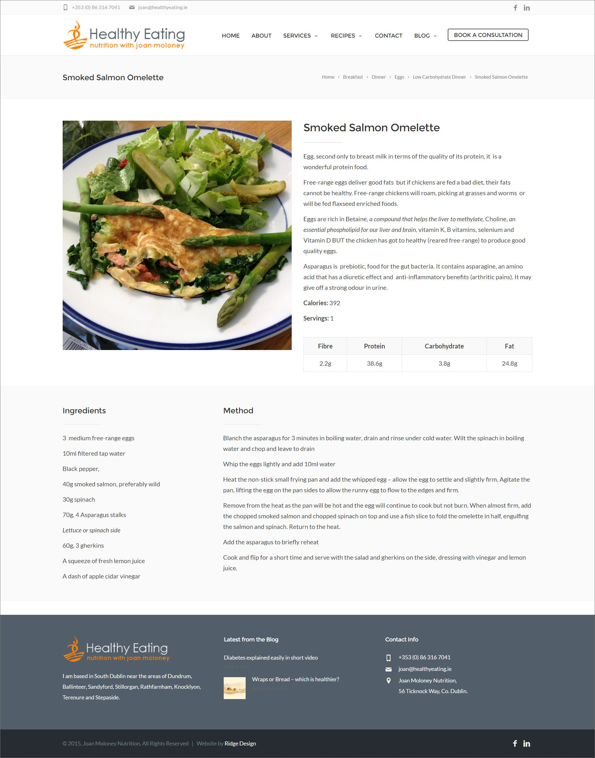 Ridge-Design-Website-Design-For Healthy-Eating-recipe