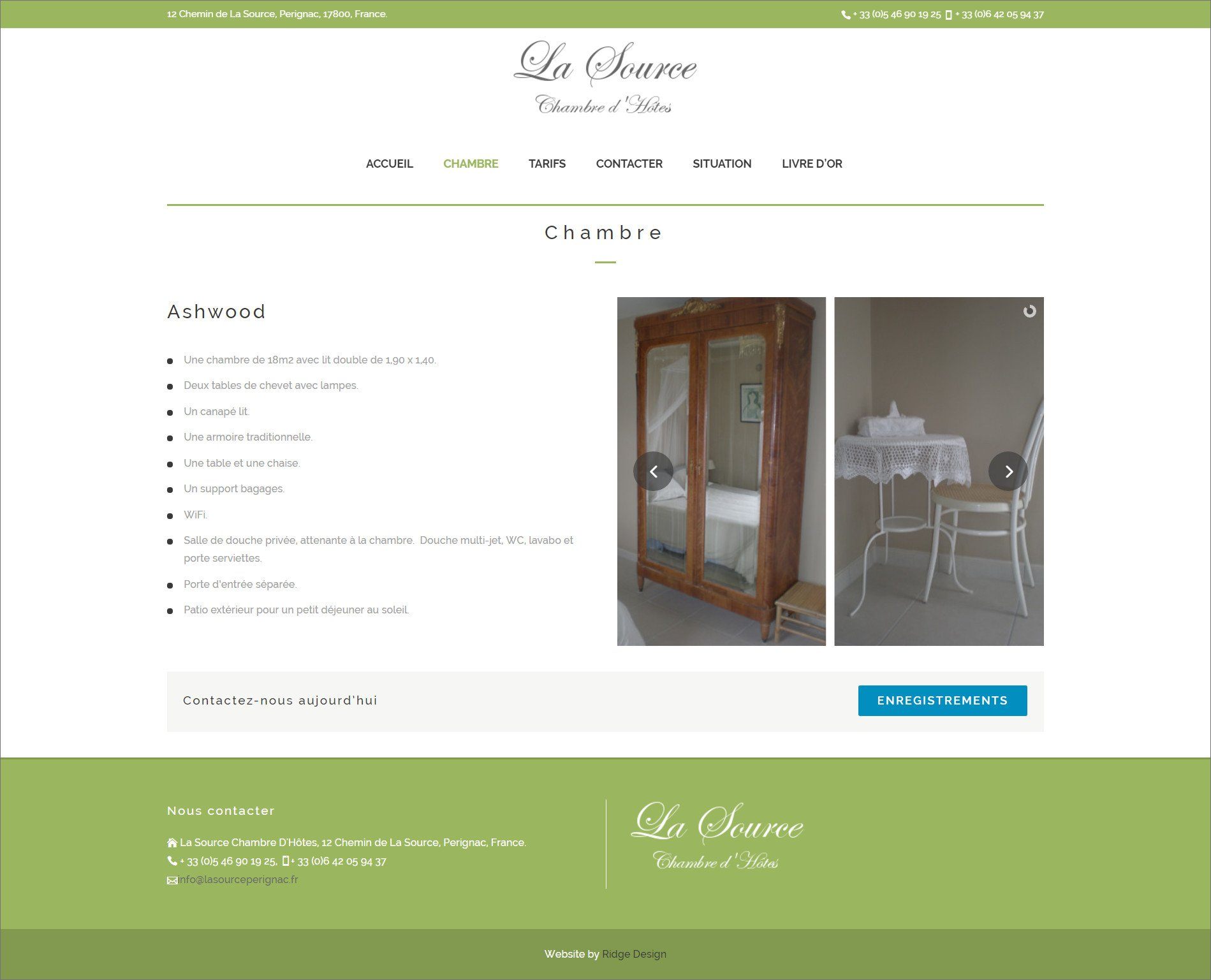 Ridge-Design-Website-Design-For La Source-chambre