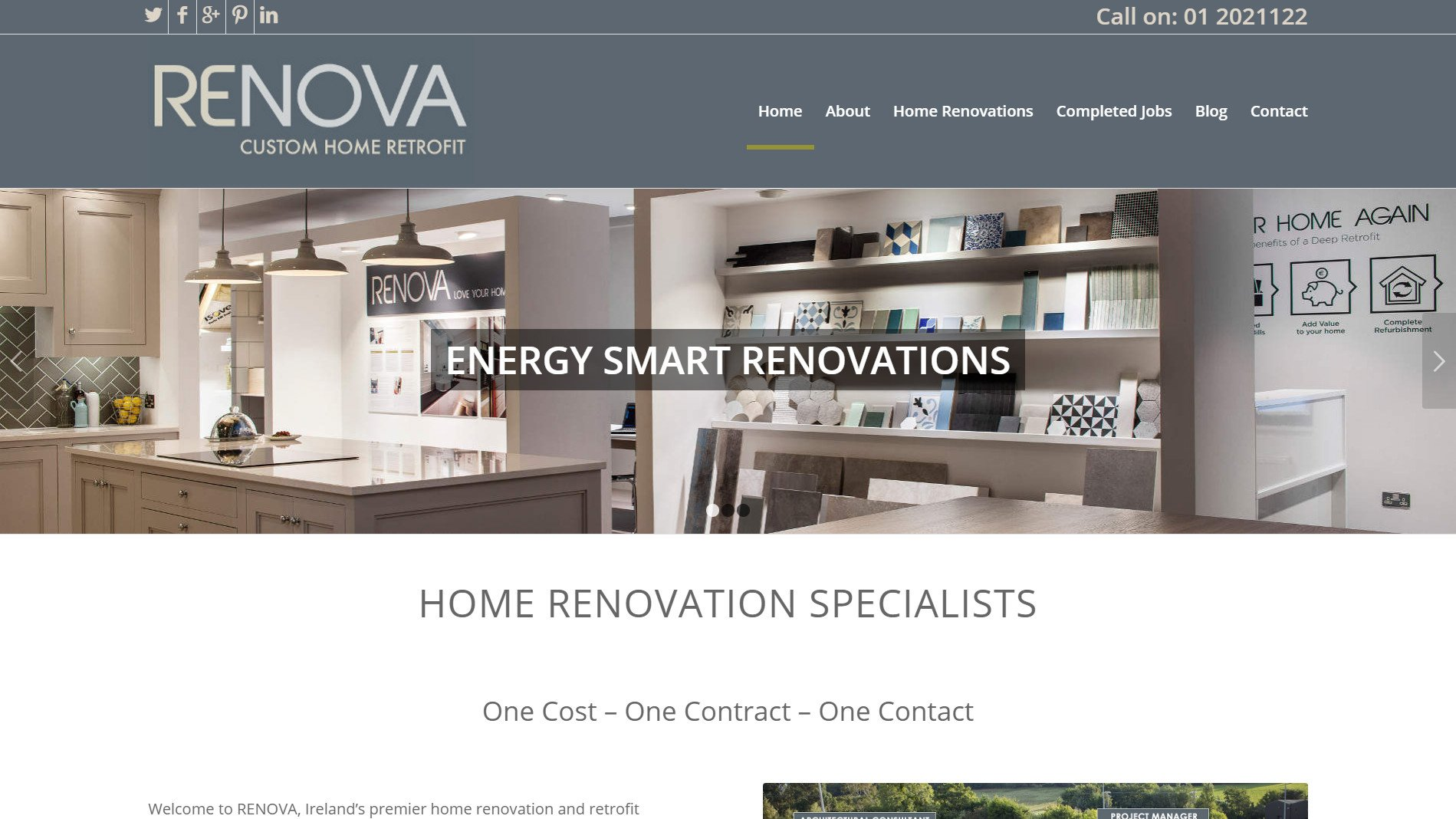 Home ridge design website design and development wicklow for Home design websites