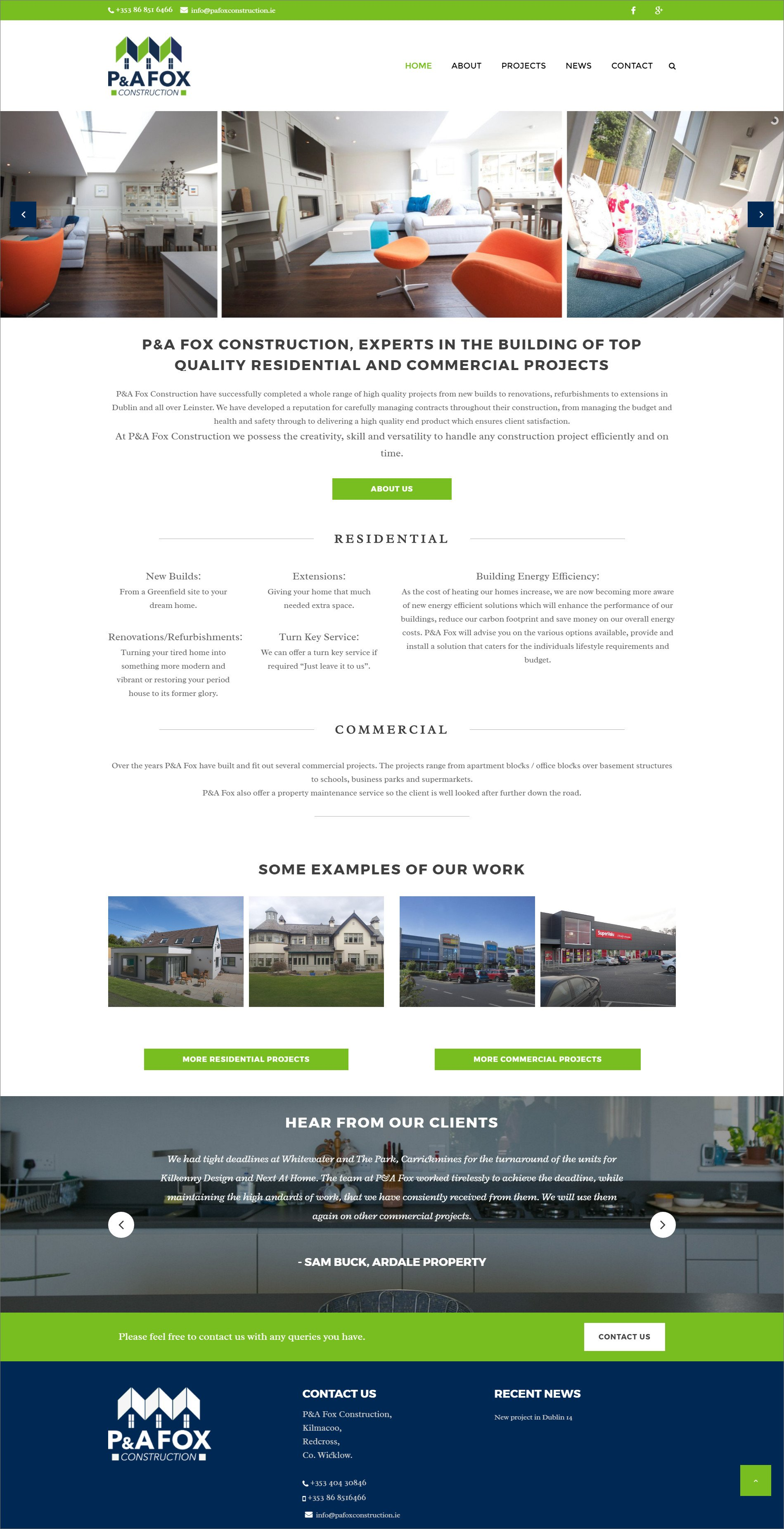 Ridge Design-Website-Design-PA-Fox-Home