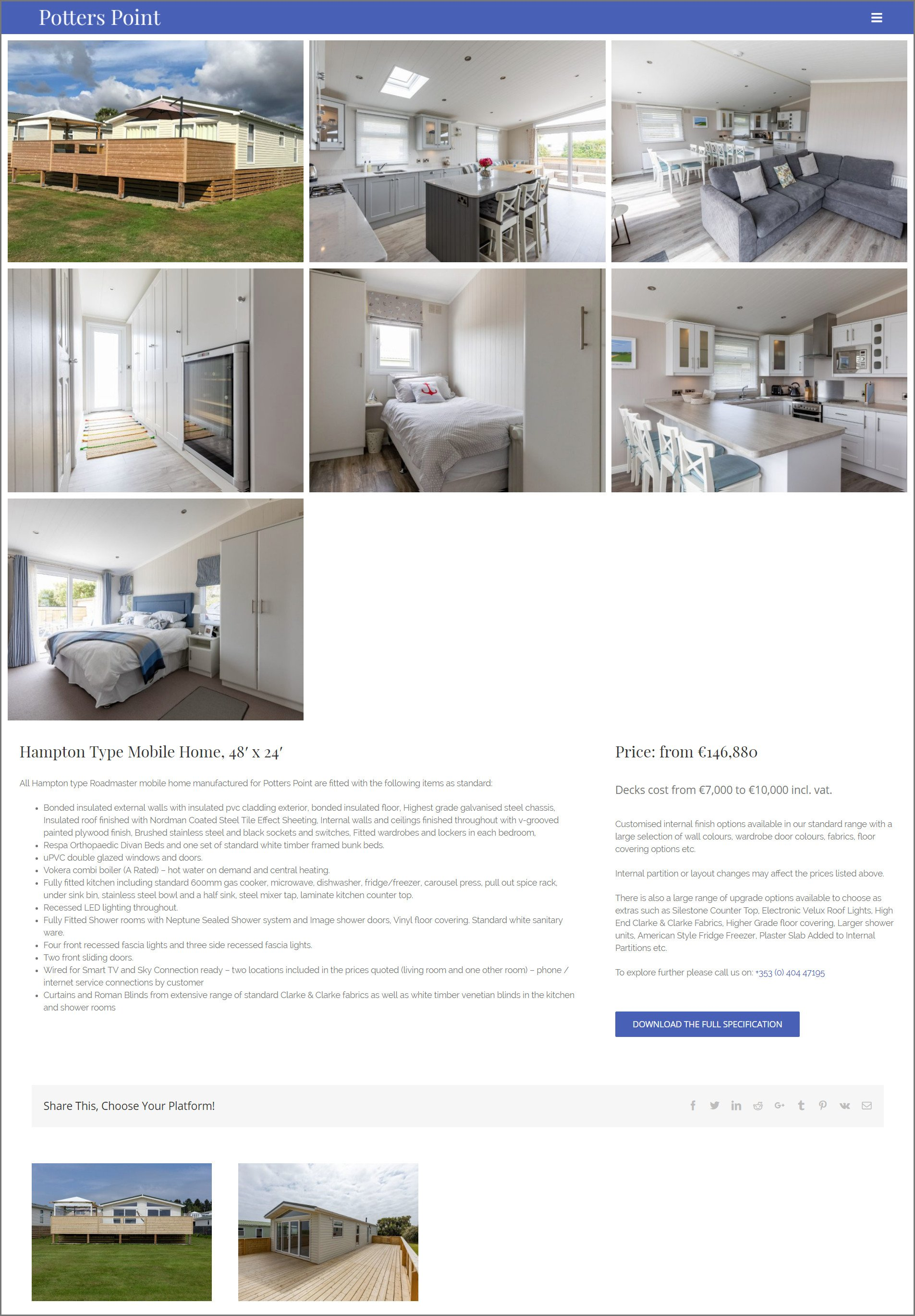 Potters-Point-Website-Design-Hampton-Page