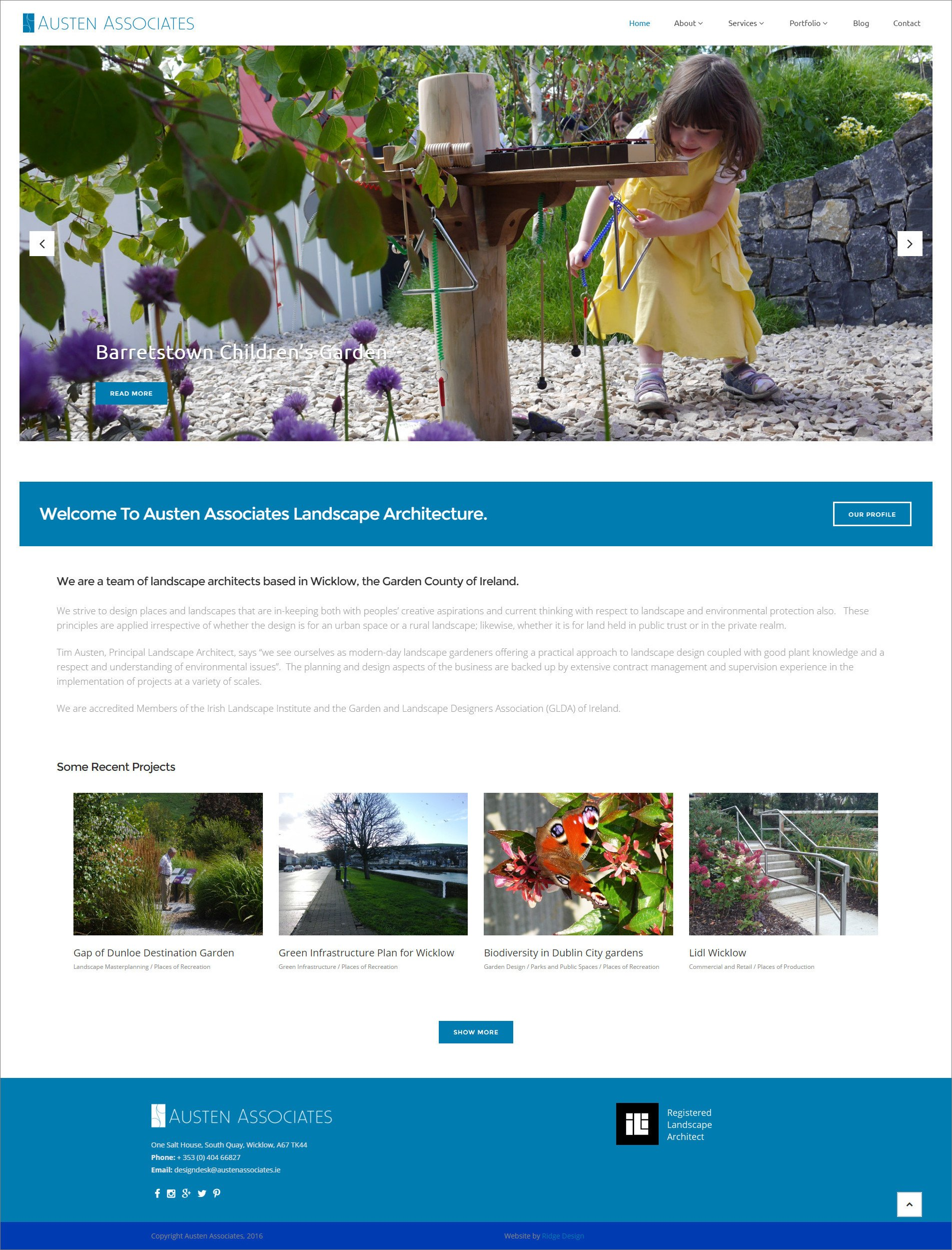 Ridge-Design-Website-Home-design-for-Austen-Associates