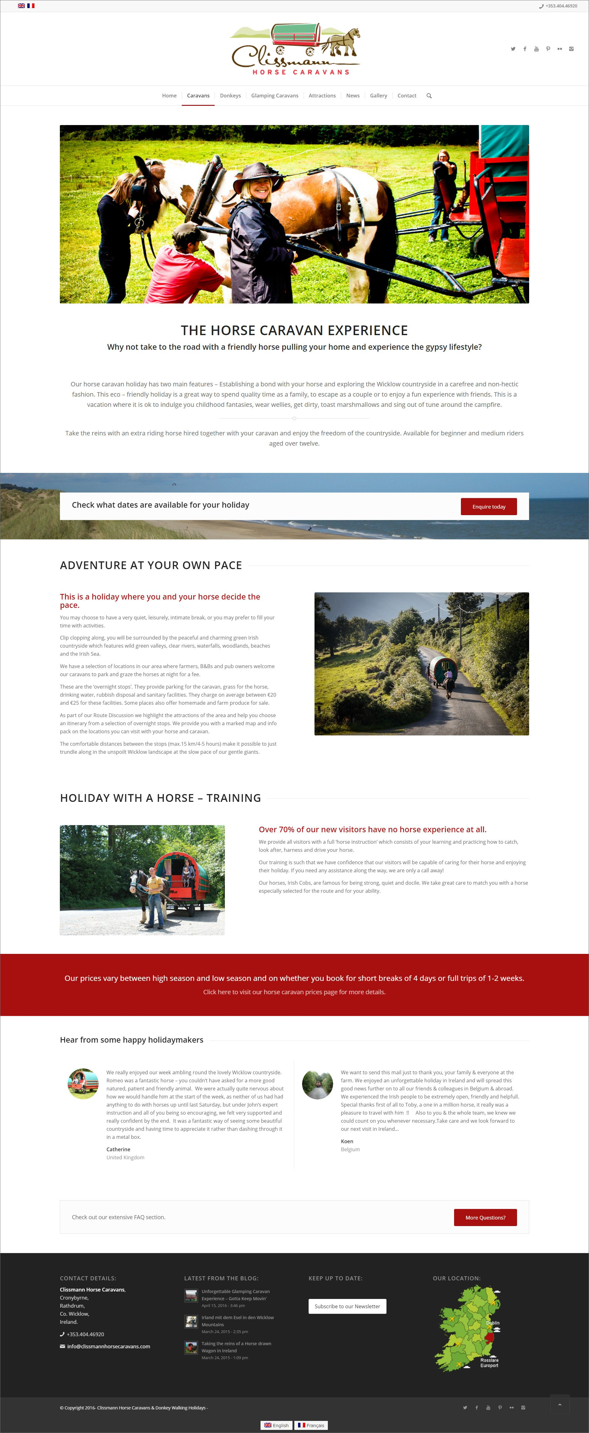 Ridge-Design-Website-Design-Clissmann-Horse-Caravans