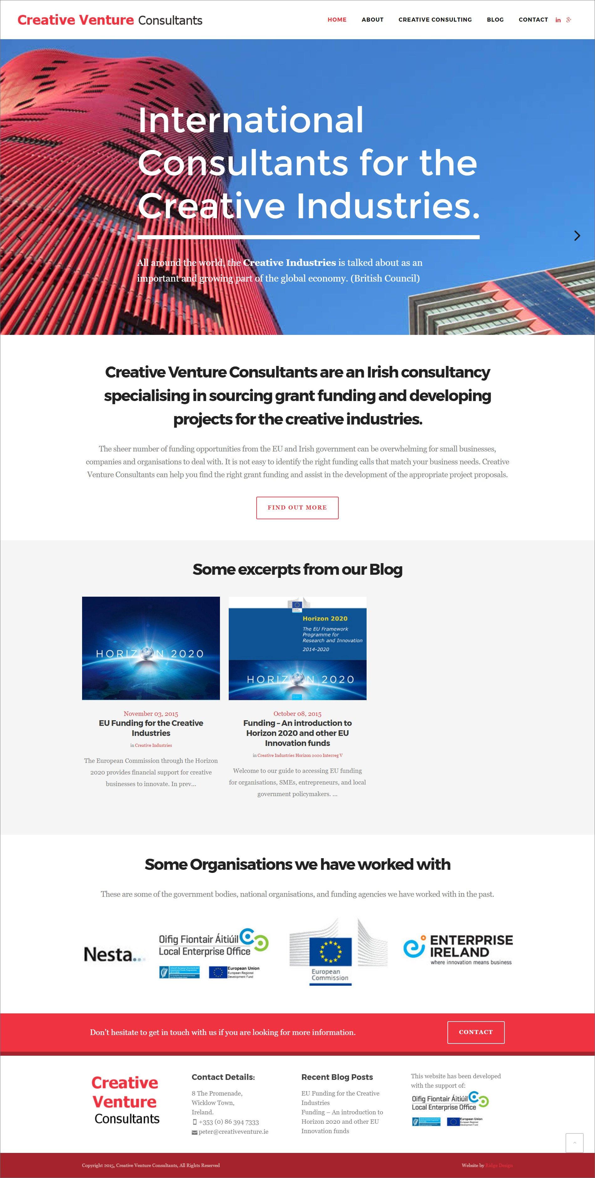 Ridge Design-Website-Design-CVC-Home