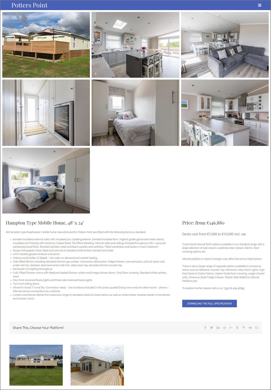 Potters-Point-Website-Design-Hampton-Page