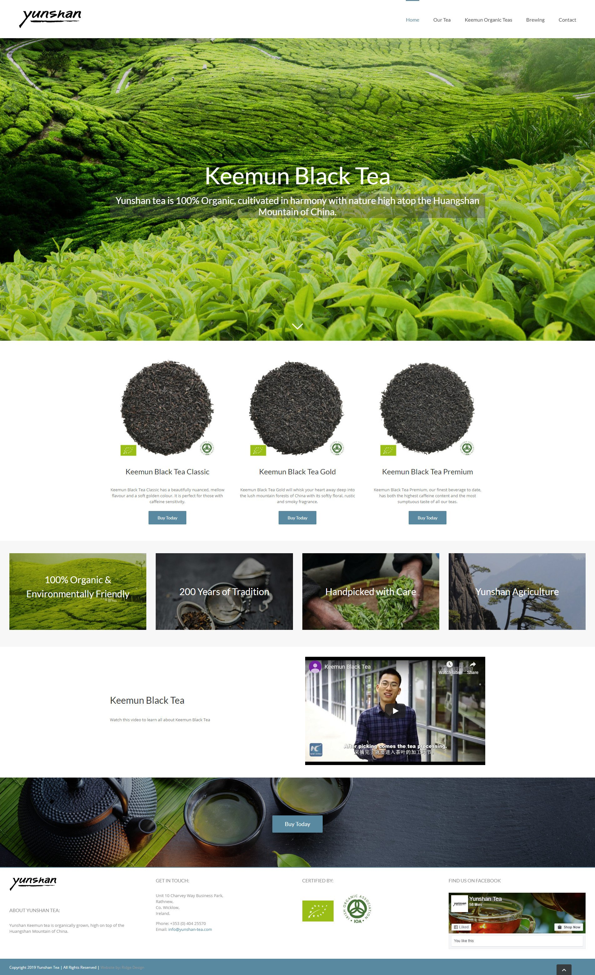 Yunshan-Tea-Website-Design-Home-Page